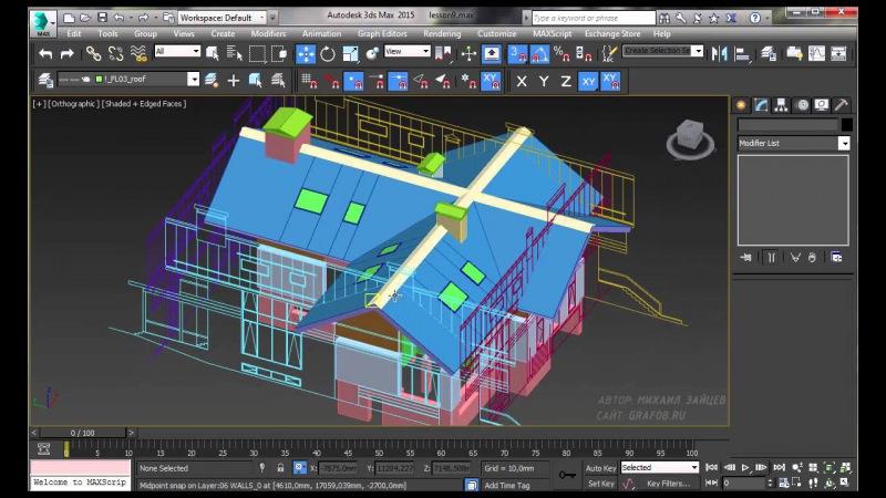 Как сделать домик в 3d max - Блог - PrizivOnline