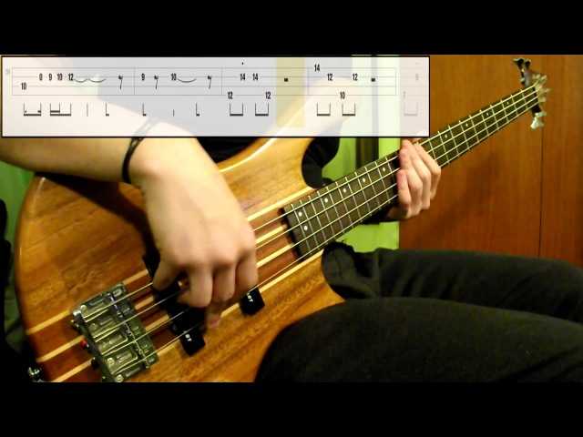Red Hot Chili Peppers Can't Stop Bass Cover Play Along Tabs In Video