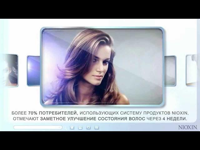 Узнайте больше о бренде Nioxin. Решите проблему тонких и редеющих волос