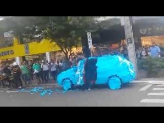 """""""Стопхам"""" в Бразилии (наказали за парковку на месте для инвалидов)"""