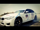 "BMW M3 drifting for Oktoberfest -  ""Münchner Wirte"""