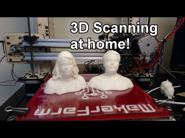 3D Scanning At Home! (Using an xbox Kinect)