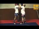 Тайский бокс Работа в тайском клинче Александр Суржко