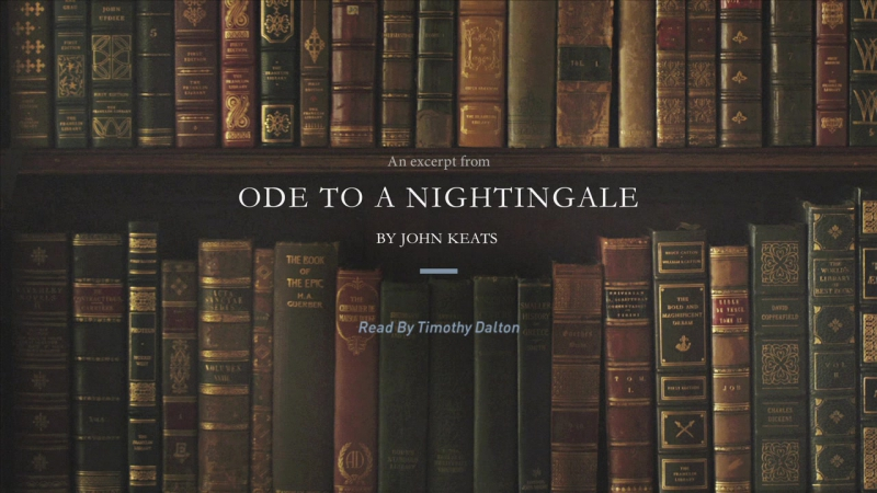 an analysis of ode to a nightingale by john keats