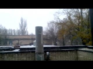 Ужасная погода в Запорожье