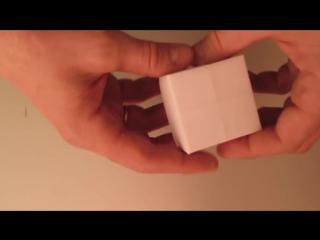 КОРОБОЧКА ИЗ БУМАГИ - Легкое Оригами для Начинающих