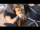 Стрижка огнем и катаной! Cutting Hair With Swords And Fire