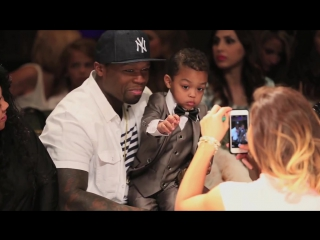 Sire Jacksons First Runway Fashion Show…Proud Parents 50 Cent Daphne Joy Cheer Him On