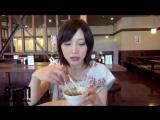 Худая японка очень много ест и не толстеет / Yuuka Kinoshita eats a lot of food in Marugame