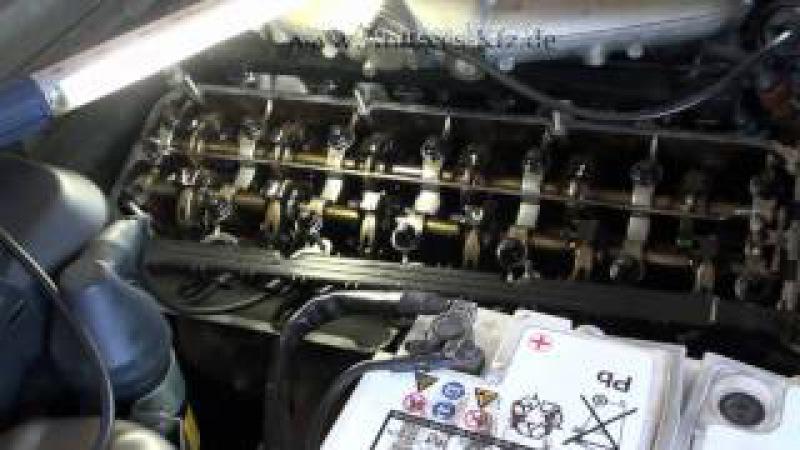 BMW Ventile richtig eingestellt beim E34 520i M20B20 der 129 PS 2 Liter Maschine (Valve adjusting)