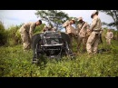 Marines field test the Boston Dynamics robot LS3 during RIMPAC 2014 in Hawaii