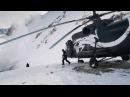 Прыжок с вертолета в кратер вулкана. Мировой рекорд!