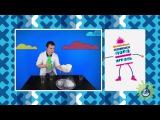 Профессор Николя на телеканале Nickelodeon. Готовим искусственный снег!