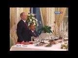 После переговоров Путин и Алиев заглянули в азербайджанское кафе