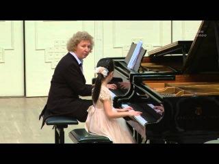 20.12.2015 Concert of professor Mira Marchenko' class students. Great Hall of Central Music School