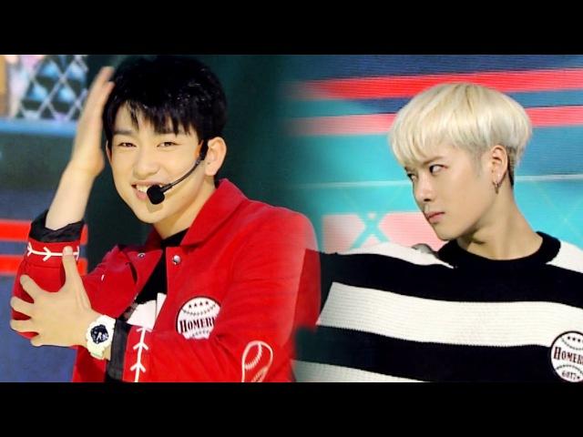 《EMOTIONAL》 GOT7(갓세븐) - HOME RUN @인기가요 Inkigayo 20160417