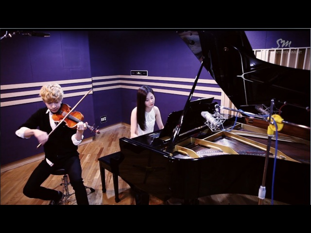 Henry 헨리_Playing 'TRAP' Violin Piano ver. with SeoHyun 서현 of Girls' Generation
