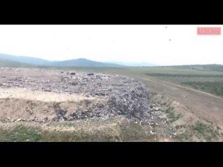 Великая мусорная пирамида Улан-Удэ