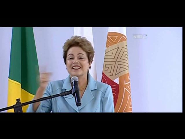 Dilma - Mandioca bola e mulher sapien