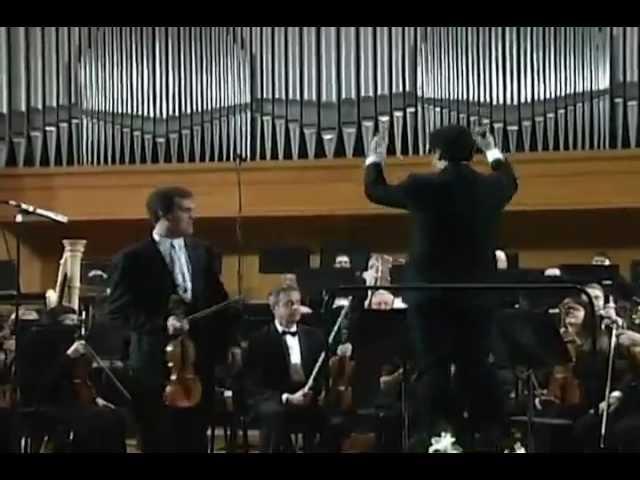 Khachaturian - Violin Concerto, Mikhail Simonyan, MSSO Sergey Smbatyan