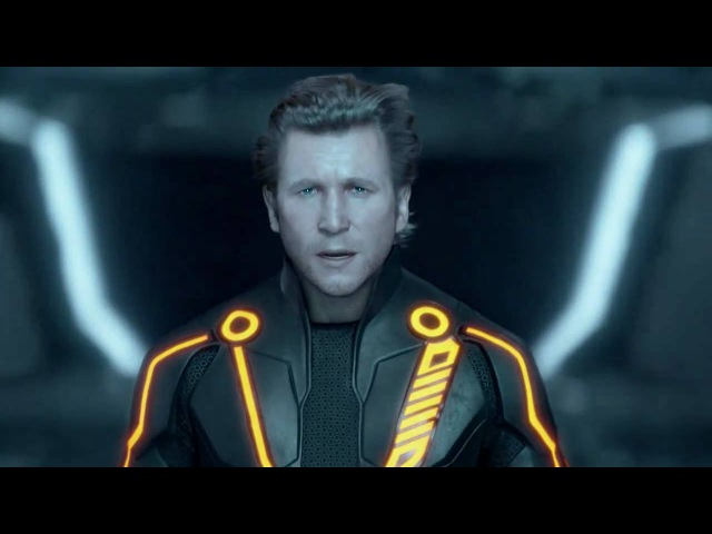 TRON: Legacy - Kevin Flynn and Clu (Final Confrontation)