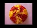 Модульное оригами. Пасхальное яйцо. Мастер класс.