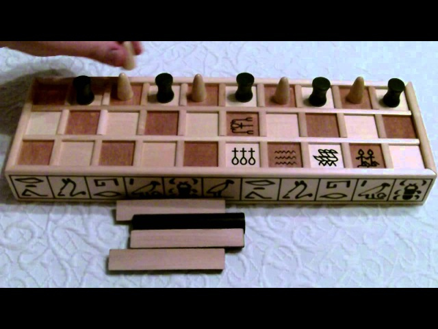 Senet - How to Play (Part 1 of 2)