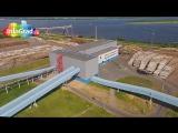 Новодвинск   Архангельский ЦБК с воздуха (съемка  год 2014)