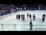 Драка  Ивана Мулина (Антипов  МОЛОДЕЖКА) Хоккей со звездами  в городе Тольятти