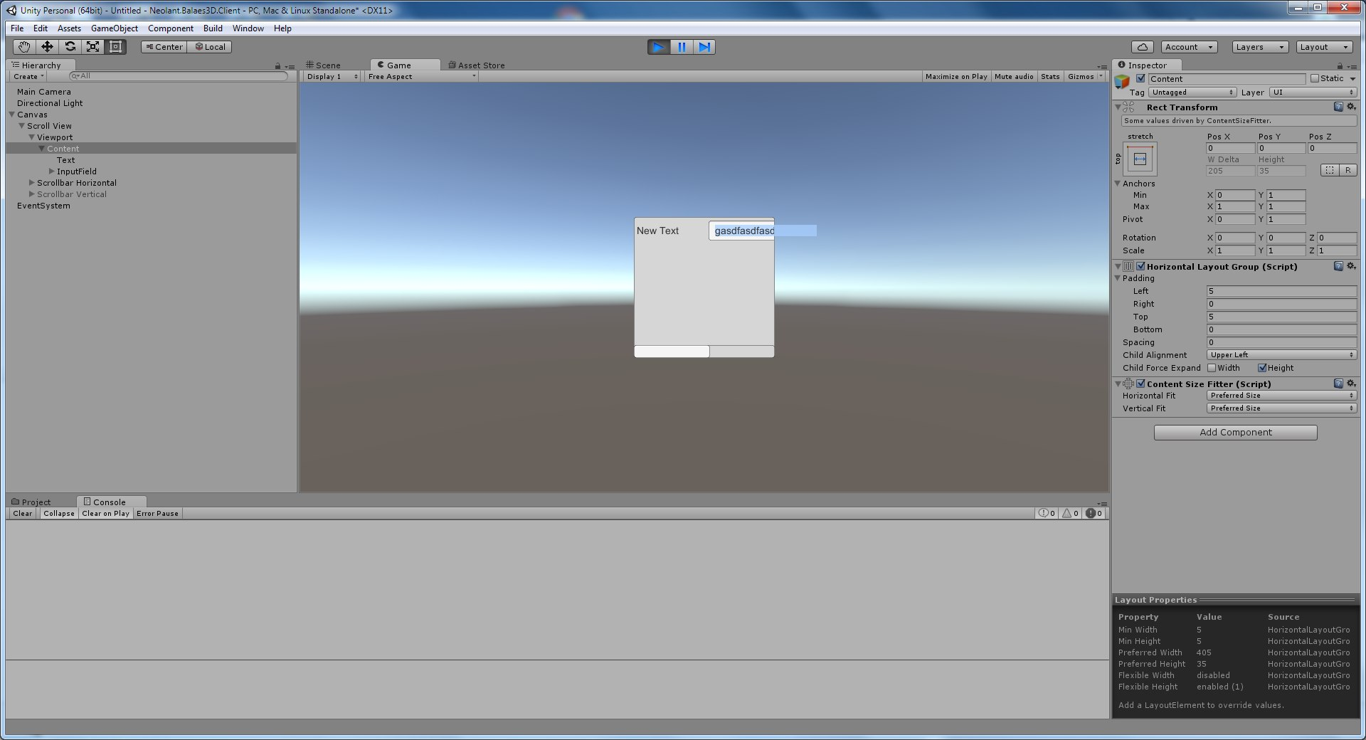 Bug with an Input Field into a ScrollView - Unity Forum