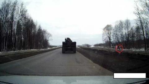 Житель Татарстана пожаловался на опасный участок трассы Азнакаево–Актюба — «Народный контроль»