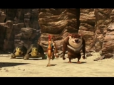 Мультфильм на иврите Союз зверей (2013) גננה בסוואנה