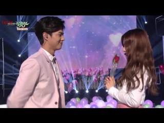 Park Bogum & Irene - One and Half  Music Bank (рус. саб.)