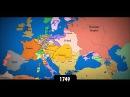 Изменение границ Европы за последнее тысячелетие. Интерактивная карта стран| History Porn