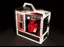 PC modding with Crucial and Ballistix Benny's Caged Heart build