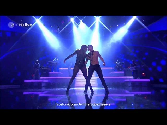 Jennifer Lopez - Dance Again (Live on Wetten, dass.. 61012) HD