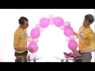 Гирлянда из шаров своими руками. Урок 5