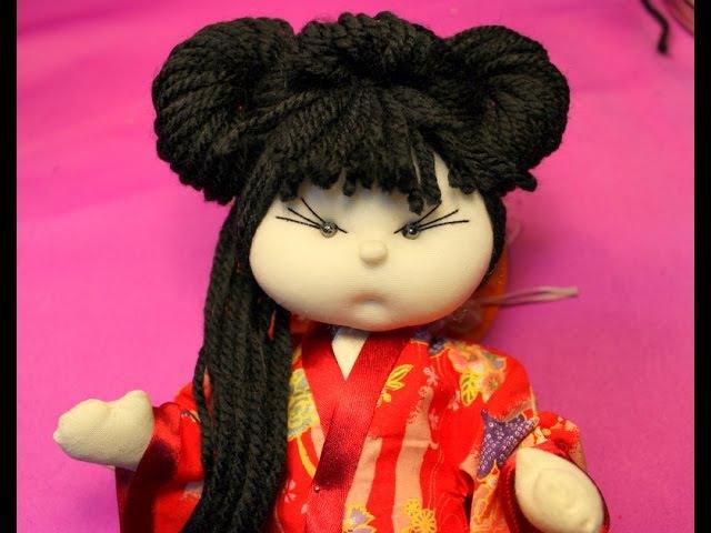 Peinado de geisha manualilolis video 37