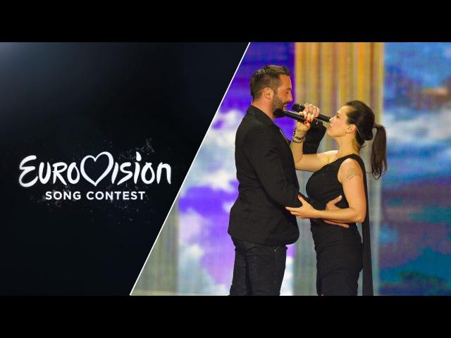 Marta Jandová Václav Noid Bárta - Hope Never Dies (Czech Republic) - LIVE - Eurovision 2015 sf2