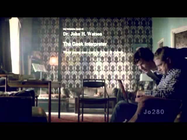 Sherlock/John - Голая