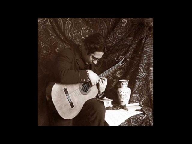 Andrés Segovia Old Recordings Bach Scarlatti Sor Granados Tàrrega Malats Mendelssohn