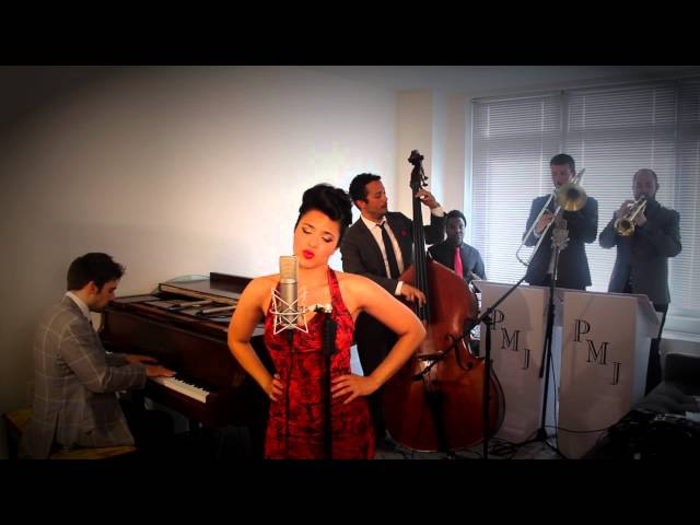 Womanizer - Vintage '40 Torch Song - Style Britney Spears Cover ft. Cristina Gatti
