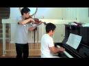 Star Wars - The Force Theme (Binary Sunset) - Violin, piano