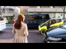 TOYOTA i-ROAD test driving in Tokyo -Long ver-