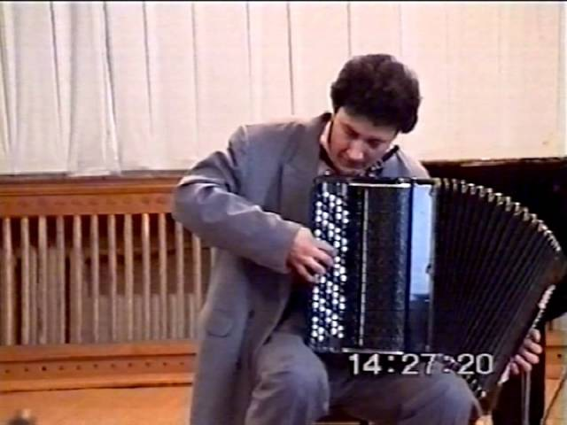 Nagayev: Sonata Op.13 Sultanov ACCORDION Нагаев Соната Султанов Баян Accordeon Akordeon