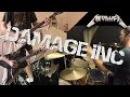 Metallica - Damage Inc. Guitar Drum Cover