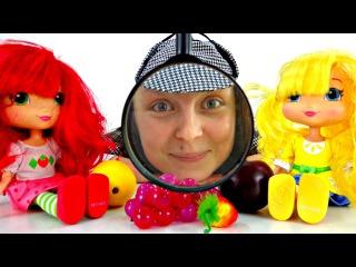 Видео в СТИХАХ для детей. Шарлотта Земляничка, Лимонка и Шерлок Холмс  ищут настроение