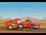 Мультики про машинки.  Молния Маквин на гонках.  Тачки Лего Дупло. Машинки мультики.  #мультик