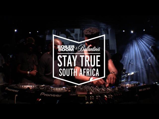 Black Motion Boiler Room Ballantine's Stay True South Africa DJ Set