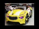 "Электромобиль ""Maserati А222АА"" (Мазерати) - Видео Обзор"